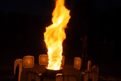Very Cool Special Effect: Fire Tornado
