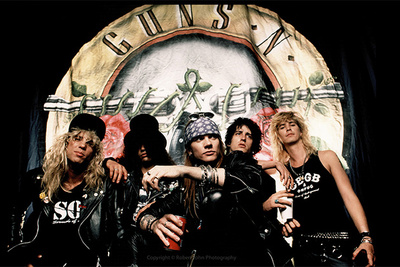 Robert John's Documentary On Photographing Guns N Roses