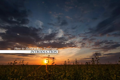 How To Shoot A RAW Timelapse: New Series By Preston Kanak