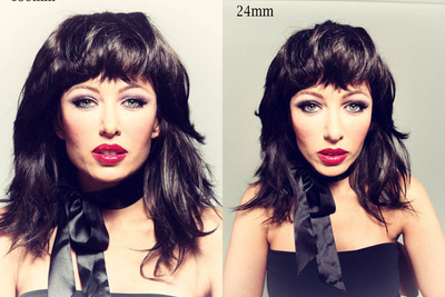 How Lens Focal Length Shapes the Face