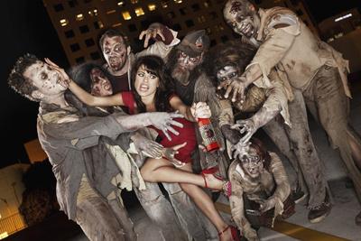 Shooting Zombies Through A Car