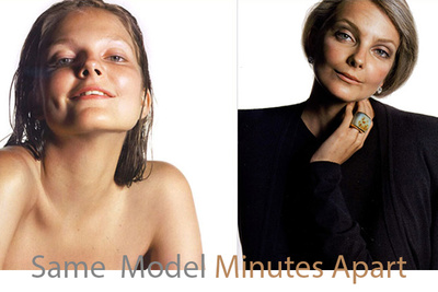 From 10 To 60 Years Old: These Models Are The Same Person