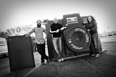 The World's Largest Holga Camera