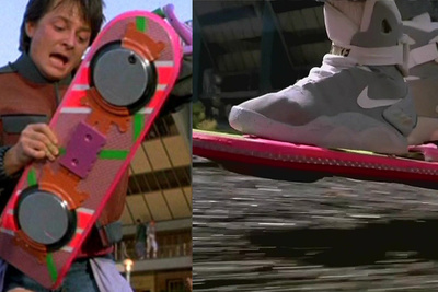 Behind the Scenes of Back To The Future Hoverboarding