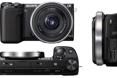 New Sony NEX-5R Mirrorless Camera