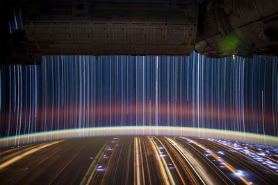 Amazing Star Streak Photos by Don Pettit