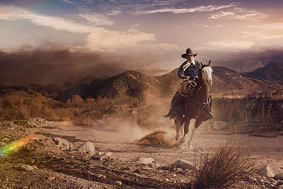 "Caleb Kuhl's Incredible ""Wild West"" Photo Shoot"