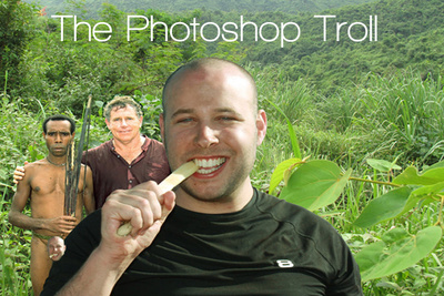 The Photoshop Troll Brings Humor Back To Photoshop