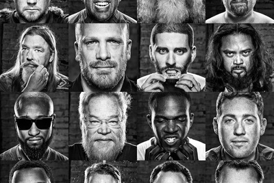 "How Douglas Sonders Processes His ""Beard Series"""