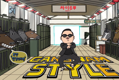 Behind The Scenes... Gangnam Style!