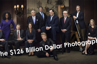 Forbes $126 Billion Dollar Photograph