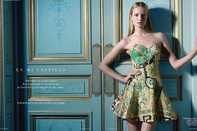 Gorgeous Fashion Editorial By Benjamin Kanarek For Harpers BAZAAR.