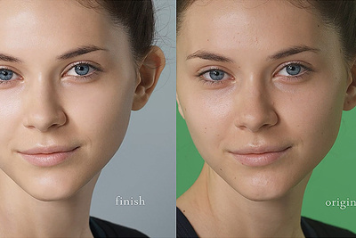 A Before And After Look Of How Beauty Retouching Is Done In Video