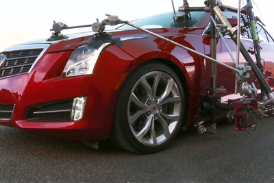 Cadillac ATS Behind The Scenes:  Morocco's Most Dangerous Road