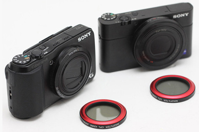 MagFilter - Magnetized filters for your compact cameras