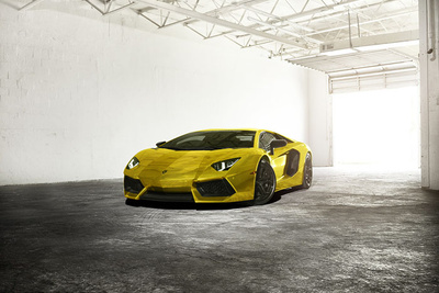 Photographing Supercars In Miami With Phase One Medium Format And Intel