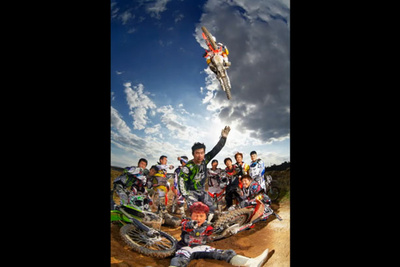 Manchul Kim Gets up Close and Personal with a Motocross Photo Shoot