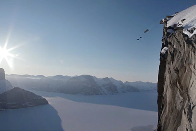 BASE Jumping For Pirelli's Annual TV Commercial - Behind The Scenes
