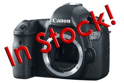 The Long-Awaited Canon 6D Is Now In Stock And Shipping From B&H