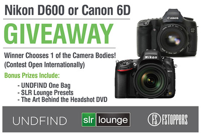 Win a Canon 6D or Nikon D600