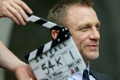 """Series Of Behind The Scenes Videos From The New James Bond Movie """"Skyfall"""""""