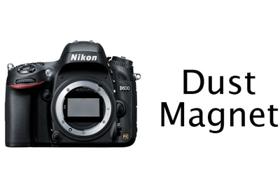 Time-Lapse of Dust Accumulating on Nikon D600 Sensor