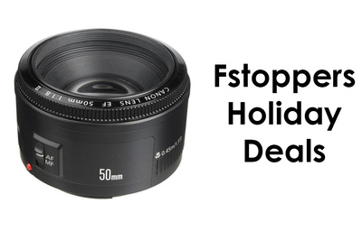 $25 Dollars off Canon 50mm f/1.8! Plus Free Shipping!