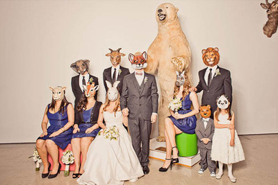 Animal Masquerade for Weddings and Engagements