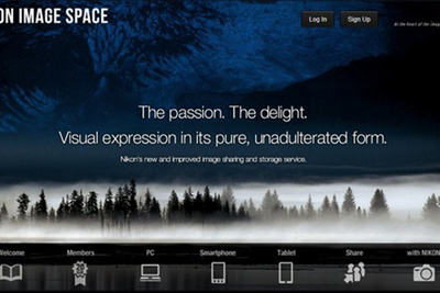"Nikon Announces Launch of the ""Nikon Image Space"""