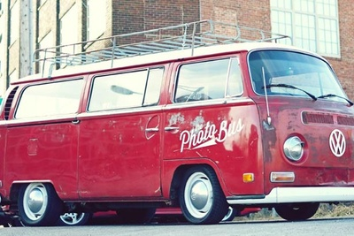 Mobile Photo Booth In A Volkswagen Bus