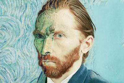 Tadao Cern Gets a Portrait of Famous Artist Vincent Van Gogh