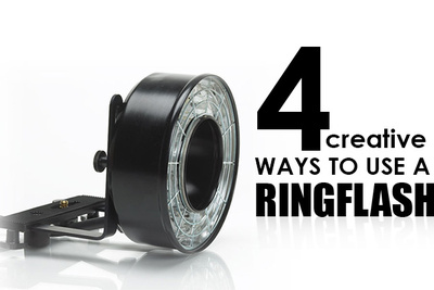 4 Creative Ways To Use A Ring Flash With Mark Wallace