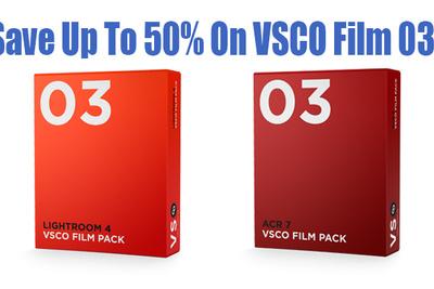 VSCO Film 03 Is On Sale Till Tuesday
