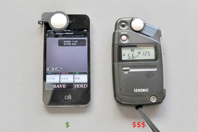 Light Meter for the iPhone