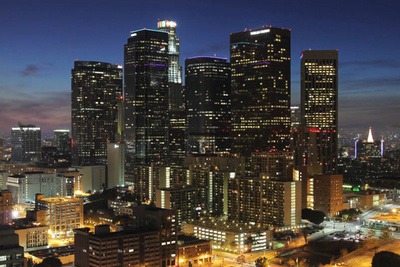 Timelapse Of The Sleepless City Of LA