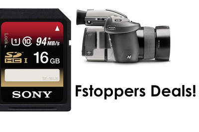 Sony SDHC Memory Card Deals, $4000 off Hasselblad Cameras and More!