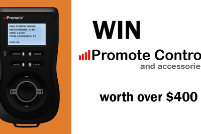 Win over $400 in Promote Control [Digital SLR Camera Remote Control] + Accessories!