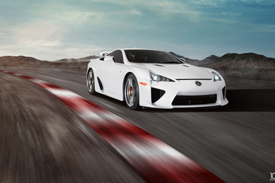 The Making of An Automotive Composite: Lexus LFA