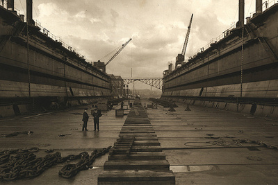 A Glimpse at Shipbuilding in the Early 20th Century