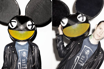 Behind the Scenes of DeadMau5's Vibe Photo Shoot