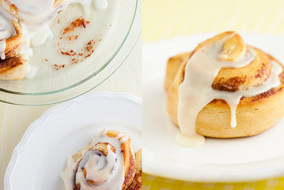 2 Different Approaches To Styling A Cinnamon Roll
