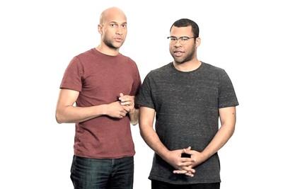 Key & Peele's Comedic Improv During Photo Shoot
