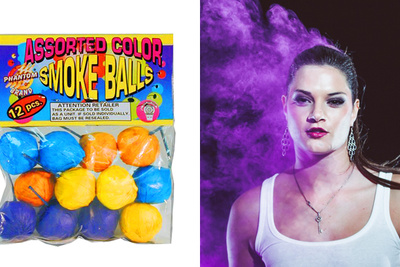 Use Colored Smoke Bombs to Accent Your Photos