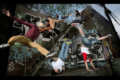 How To Light and Compose a Parkour Photoshoot