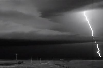 Lightning Captured at 11,000 Frames Per Second