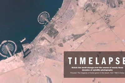 Time & Google Timelapse 30 Years Of Satellite Photography