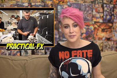 Comicbookgirl19 Interviews Practical VFX Artist, Alec Gillis