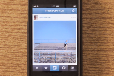 Instagram Meets Stop-motion Video