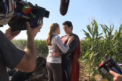 Behind the Scenes of 'Man of Steel'