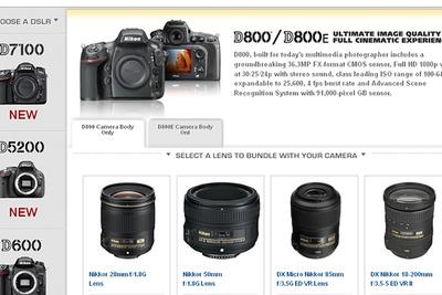 New Nikon DSLRs with Lens/Speedlight Combination Rebates